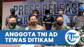 Hendak Lerai Pertikaian, Anggota TNI AD Justru Tewas Ditikam di Depok, Pelaku Berhasil Ditangkap
