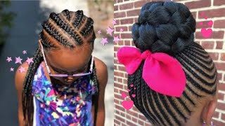 ADORABLE + CUTE BLACK GIRL HAIRSTYLES COMPILATION 2020💕🦋 I BRAIDS EDITION💕🦋