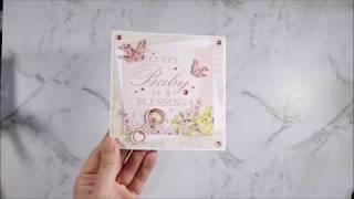 Kaisercraft Peek A Boo Baby Dedication Card