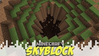 The Hole... - Skyblock Season 3 - EP03 (Minecraft Video)