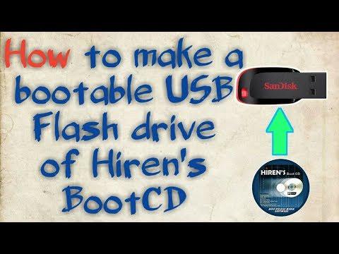 How to make Hiren's BootCD PE x64 USB Boot - смотреть онлайн