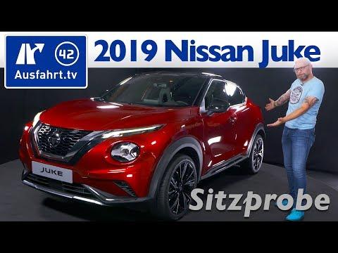 2019 Nissan Juke II 1.0 DIG-T 117 - Weltpremiere, Sitzprobe, kein Test, Interieur