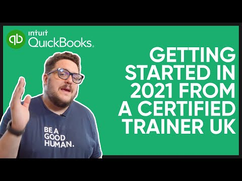 QuickBooks Online Tutorial: Getting Started in 2021 from a certified Trainer UK