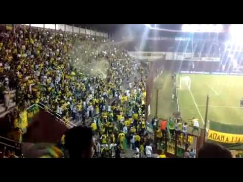 """Recibimiento! Defensa  - San pablo"" Barra: La Banda de Varela • Club: Defensa y Justicia"