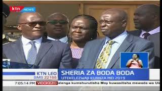 Waendesha boda boda waongezewa mda wa kutekeleza sheria mpya hadi May 2019