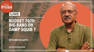 Budget 2020: Big bang or damp squib ?