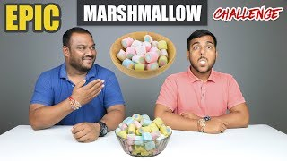EPIC MARSHMALLOW CHALLENGE   Marshmallow Eating Competition   Food Challenge