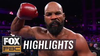 Washington knocks out Helenius in 8th round of heavyweight bout | HIGHLIGHTS | PBC ON FOX