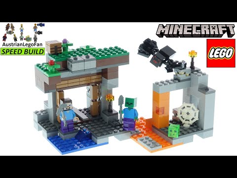 Vidéo LEGO Minecraft 21166 : La mine abandonnée