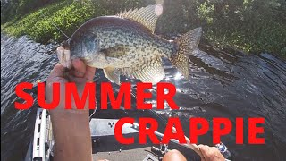 Successful Summer Crappie Fishing In Louisiana(Learn MY Technique UP CLOSE)