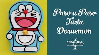 Paso a Paso Tarta Doraemon.  Primera Parte