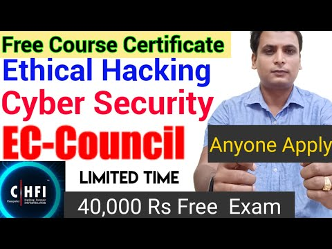 ethical hacking free course with certificate | cloud computing | CEH ...