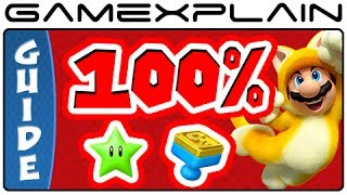 All 380 Green Stars&85 Stamps in Super Mario 3D World in 60 minutes - 100% Guide&Walkthrough