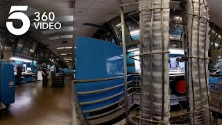 Printing Newspapers at the Los Angeles Times | KTLA 360