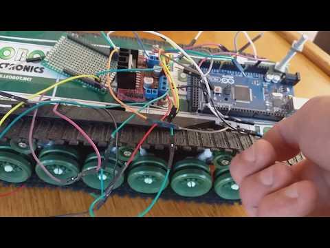 DIY Generic Arduino 2 Wheel-Drive Robot Design