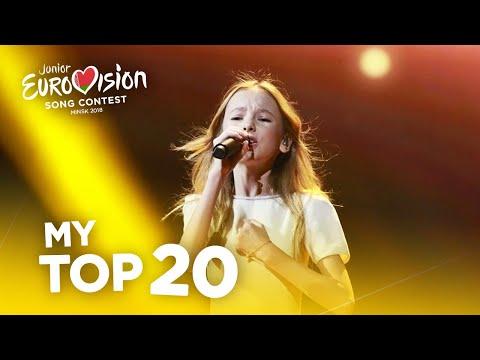 Junior Eurovision 2018 - Top 20