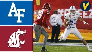 Air Force vs Washington State Highlights |  2019 Cheez-It Bowl | Highlights College Football