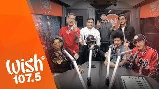 "Rap act Ex Battalion performs ""Hayaan Mo Sila"" live on the Wish 107.5 Bus! The song is a smash hit for the fast-rising hip-hop group.  Original music by Diamond Style.  #WISHclusive  *** Wish 107.5 is an all-hits FM radio station based in Quezon City, Philippines. It has truly gone out, beyond the conventional, to provide multiple platforms where great Filipino talents can perform and showcase their music. With the Wish 107.5 Bus, people now need not to buy concert tickets just to see their favorite artists perform on stage.    However, innovation doesn't stop in just delivering the coolest musical experience — Wish 107.5 has set the bar higher as it tapped the power of technology to let the Filipino artistry shine in the global stage. With its intensified investment in its digital platforms, it has transformed itself from being a local FM station to becoming a sought-after WISHclusive gateway to the world.  For more information, visit www.wish1075.com. For all-day and all-night wishful music, tune in via your radio or download the Wish 107.5 app (available for both iOS and Android users).  Get more WISHclusive updates: Like Wish 107.5: http://www.facebook.com/WishFM1075 Follow Wish 107.5: http://www.twitter.com/wish1075 Subscribe: http://www.youtube.com/Wish1075official Wish 107.5 Instagram- @Wish1075.  Feel free to SHARE this video but DO NOT REUPLOAD. Thank you!"