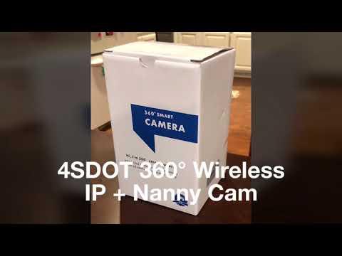 Wireless IP Camera/ Nanny Cam 1080P— By: 4SDOT