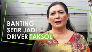Sepi Job, Artis Senior Dharty Manullang Banting Setir Jadi Sopir Taksi Online, Ungkap Pendapatannya