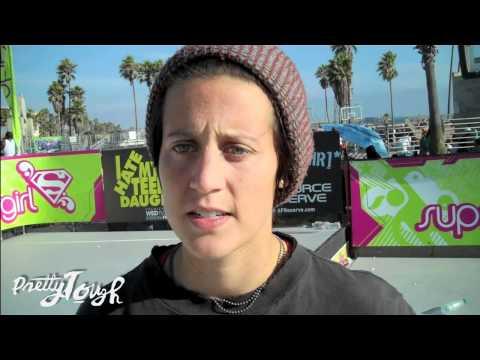 Skateboarder Alexis Sablone is a Supergirl