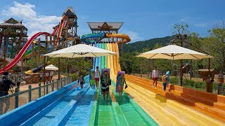Racer Water Slide at Gimhae Lotte Water Park