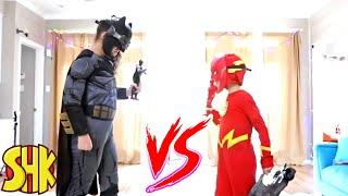 Superheroes Toys Battle: A SuperHero Kids Christmas Classic Comics Compilation