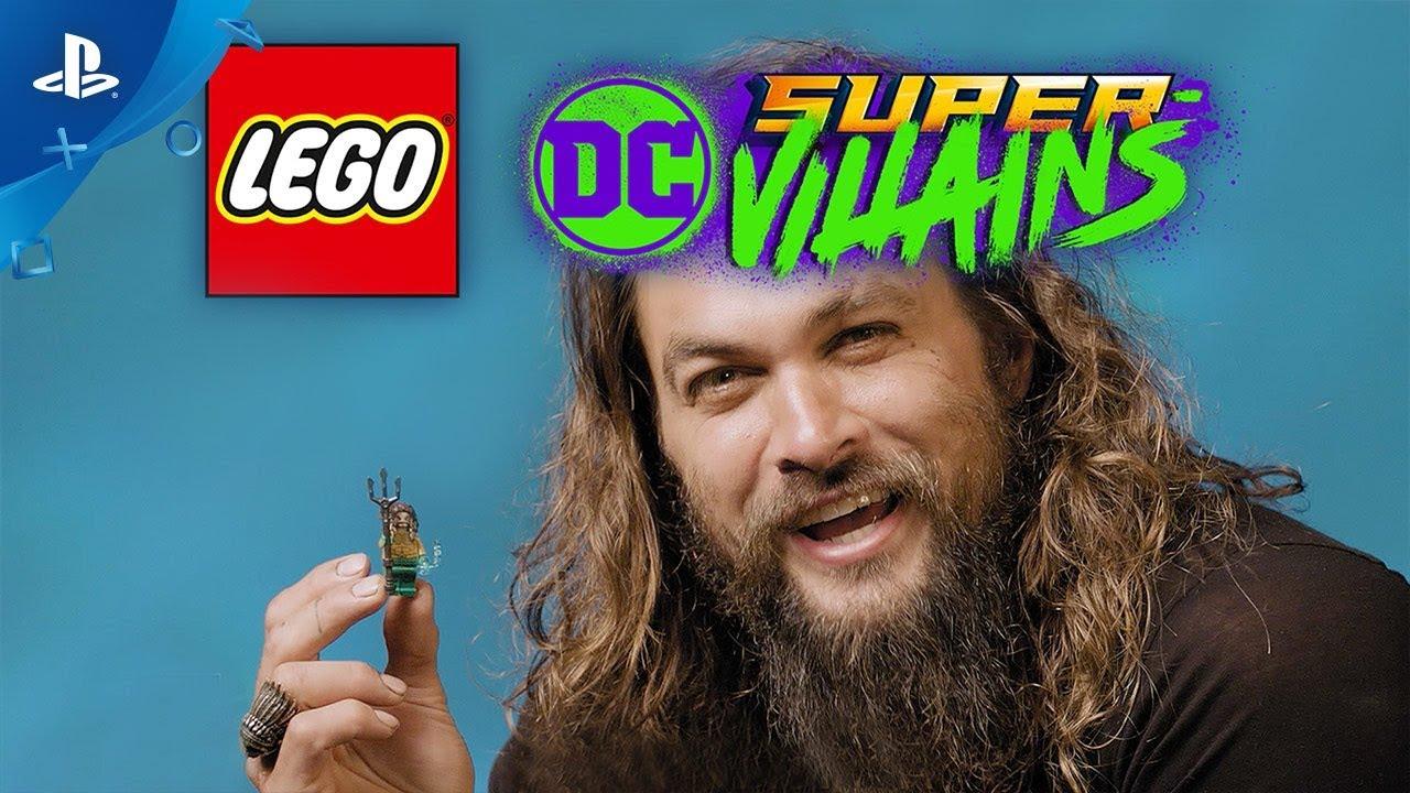 LEGO DC Super-Villains - Aquaman DLC Movie Level Pack Trailer | PS4
