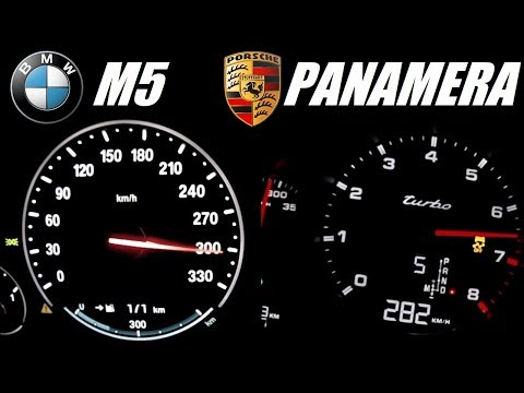 Porsche Panamera Turbo 300 Km H