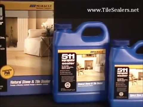 Tilesealers.net 511 Impregnator - How To Seal Tile & Grout Mp3