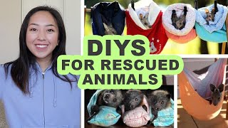 Sewing DIYs For Rescued Animals | Beds, Bags, Pouches, And Wraps!