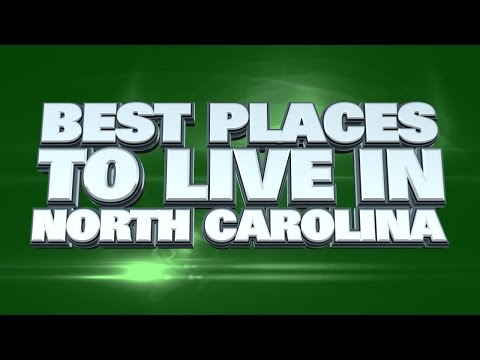 Video 10 Best Places to Live in North Carolina 2015