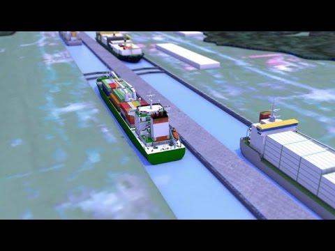 Les travaux de l'élargissement du canal de Panama ont débuté