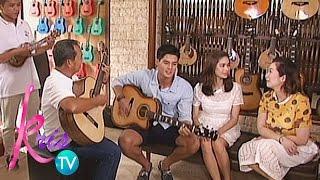 Kris TV: Daniel sings 'I'm Yours'