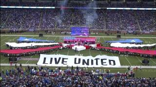 "Kid Rock ""Born Free"" Halftime Show Thanksgiving Day"