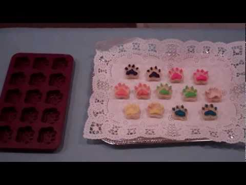 Decorated Dog Treats For Small Dogs With Dog Treat Icing, Small Dog Treats