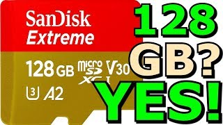 Sandisk Extreme 128GB Micro SD Memory Card Test and Review