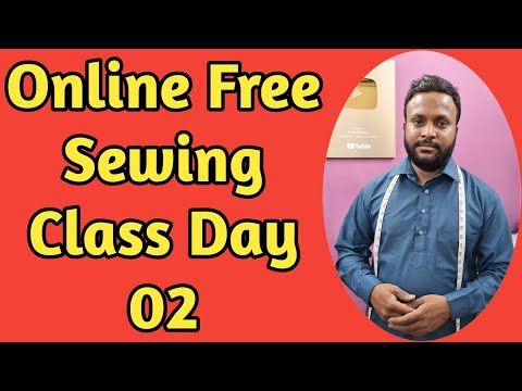 Online Sewing Class Day 2