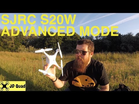 SJRC S20W Advanced Mode Flight Test Video - Courtesy of Banggood