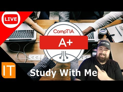 CompTIA 902 A+ Study With Me - YouTube