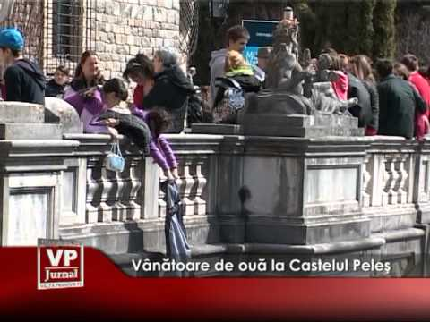 Vânătoare de ouă la Castelul Peleş