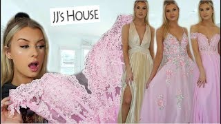TRYING ON JJsHOUSE PROM DRESSES! Are They Worth It?!