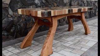 Epoxy bench