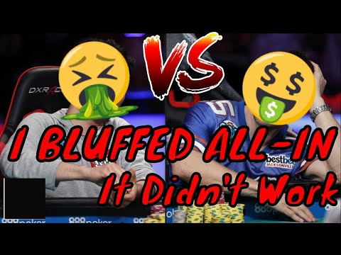 Bluffing All-In: Poker FAIL 2018 (gambling vlog #21)
