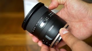 Tamron 10-24mm f/3.5-4.5 VC HLD lens review with samples