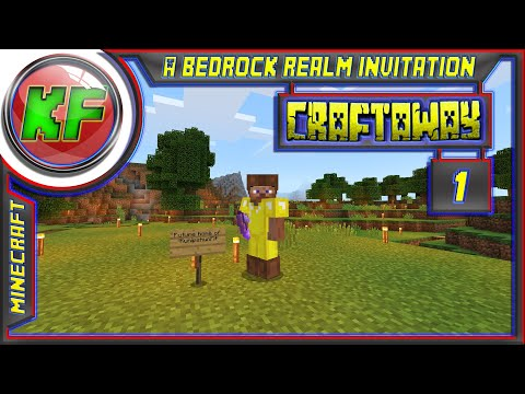 A Bedrock Realm Invitation // Minecraft SMP lets play