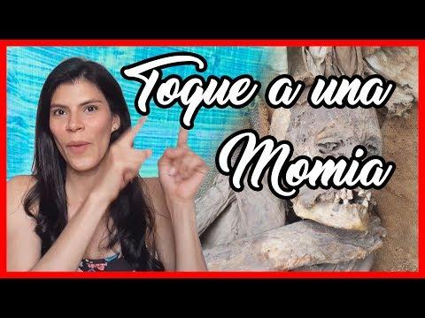 conozco JULCÁN y toco a una MOMIA 🤪   @Monicasymonee
