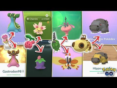 ALL NEW POKÉMON GO FORMS EXPLAINED! Burmy, Hippopotas, Shellos, New Regional Pokémon