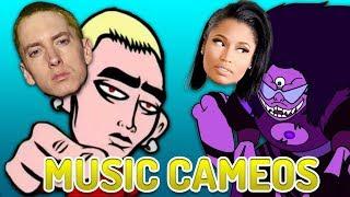 Top 10 WTF Cartoon Music Cameos