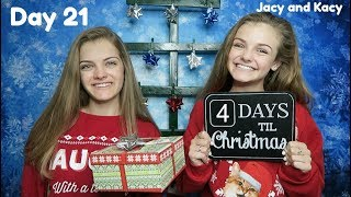 Christmas Countdown 2017 ~ Day 21 ~ Jacy and Kacy